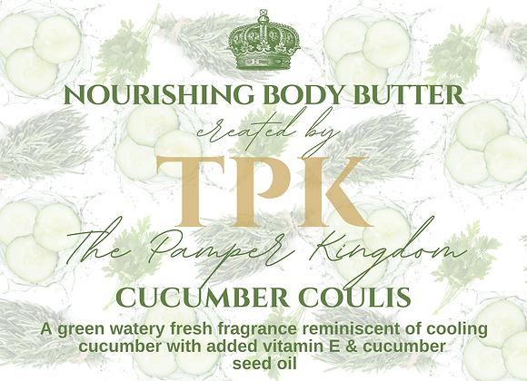 Cucumber Coulis Nourishing Body Butter