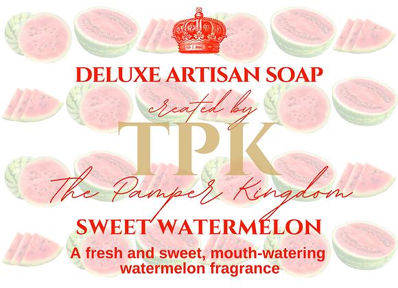 Sweet Watermelon Deluxe Artisan Soap
