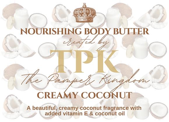 Creamy Coconut Nourishing Body Butter
