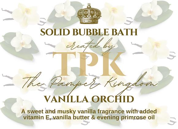 Vanilla Orchid Solid Bubble Bath