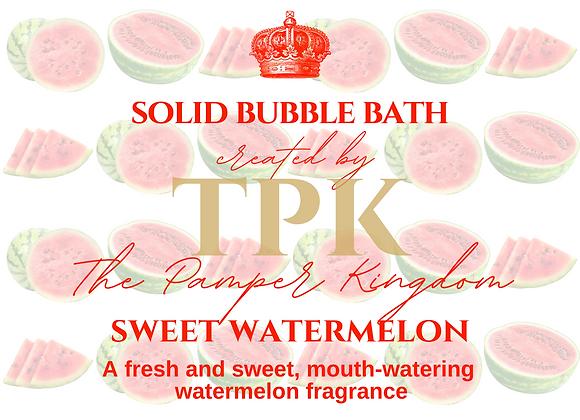 Sweet Watermelon Solid Bubble Bath