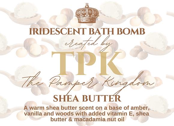 Shea Butter Iridescent Bath Bomb