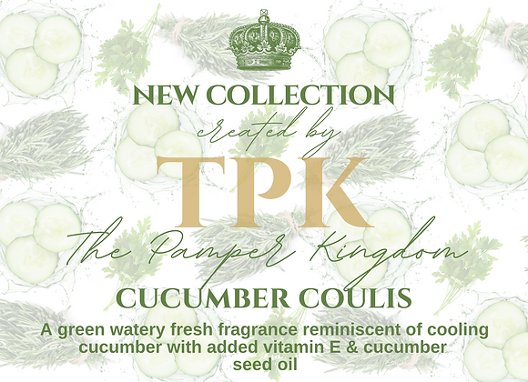 New Collection - Cucumber Coulis