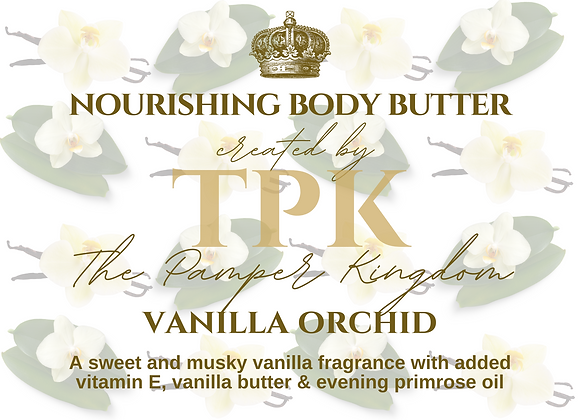 Vanilla Orchid Nourishing Body Butter