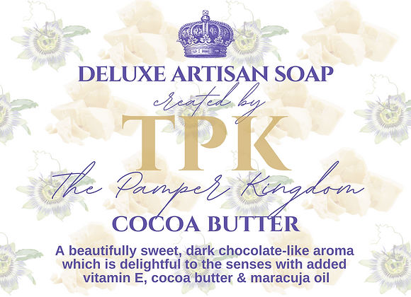 Cocoa Butter Deluxe Artisan Soap