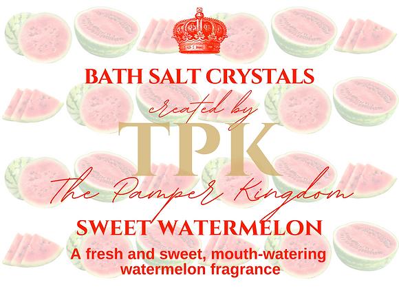 Sweet Watermelon Bath Salt Crystals