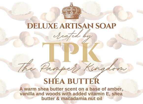 Shea Butter Deluxe Artisan Soap