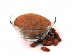 Ground almond shell