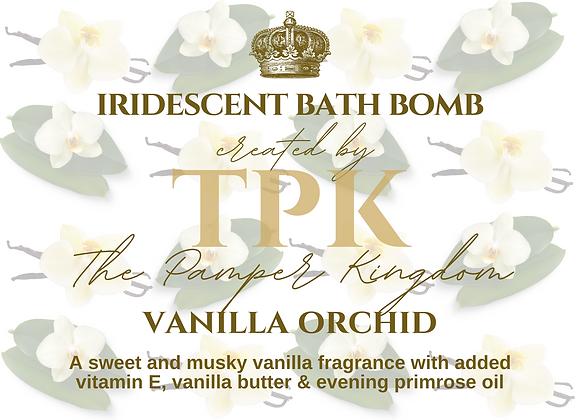 Vanilla Orchid Iridescent Bath Bomb