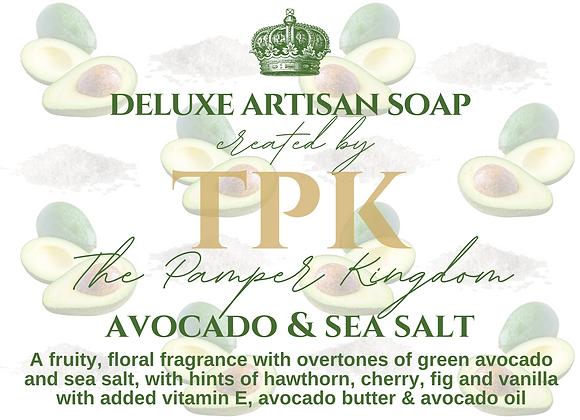 Avocado and Sea Salt Deluxe Artisan Soap
