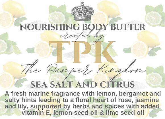 Sea Salt and Citrus Nourishing Body Butter