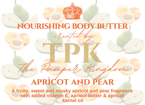 Apricot and Pear Nourishing Body Butter
