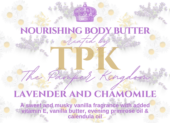Lavender, Chamomile and Calendula Nourishing Body Butter
