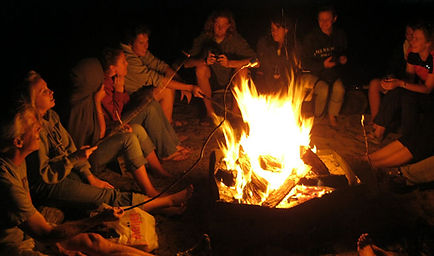 Cincinnati RV Rental Bonfire