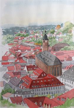 023_ハイデルベルグ旧市街_ドイツ
