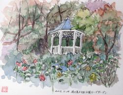 024_港の見える丘公園ローズガーデン(神奈川・横浜市)-2013/水彩F2