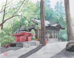 031_高下駄(神奈川・南足柄市)-2015/水彩F2