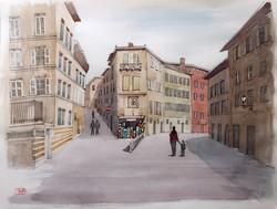 022_シエナの街角_イタリア
