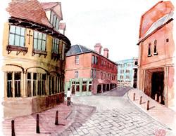 030_オックスフォードの街並_イギリス