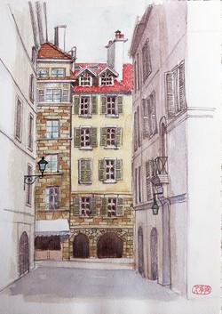 002_ジュネーブ旧市街2_スイス