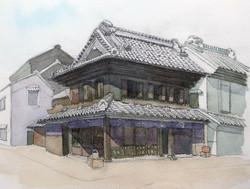 013_陶舗やまわ(埼玉・川越市)-2010/水彩F3