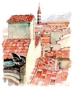 020_フィレンツェの赤い屋根_イタリア