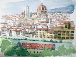 019_フィレンツェの街_イタリア