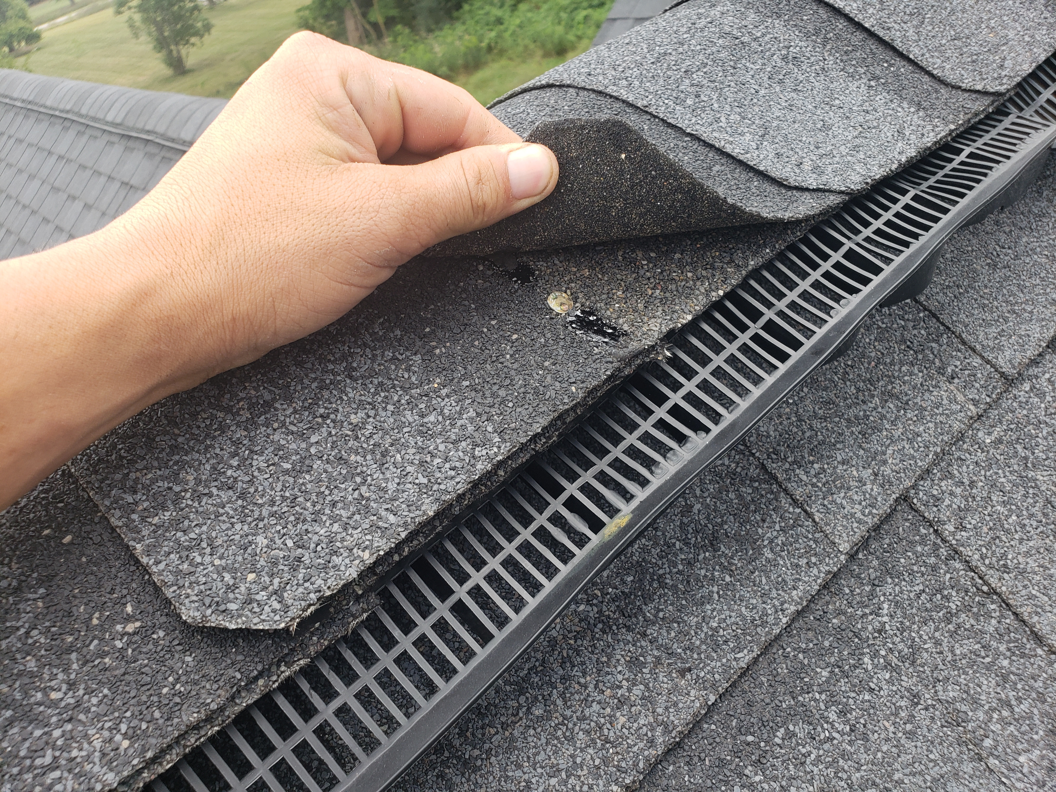Roof inspection and general assessment