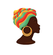 cabeza-mujer-joven-ilustración-clip-art