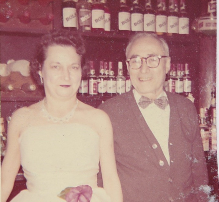 Mr. Nick and Ms. Dora at the bar