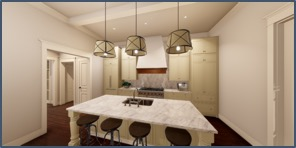 1220 Dauphine C kitchen
