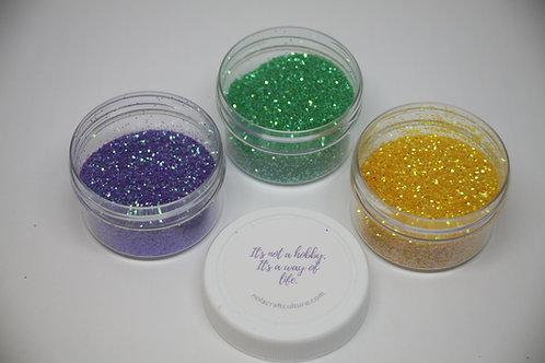 Purple, Green & Gold Topping Set (3 0.5oz Jars)
