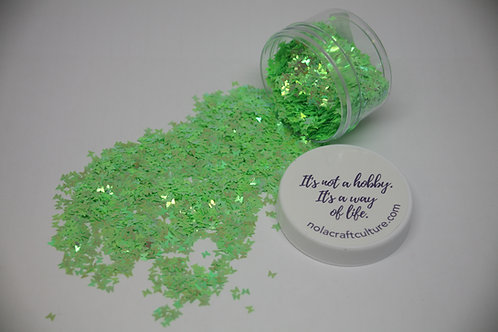 Green Butterfly Confetti, 0.5oz