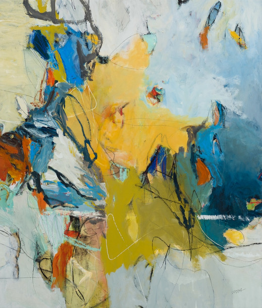 SOLD   embrace   55x47