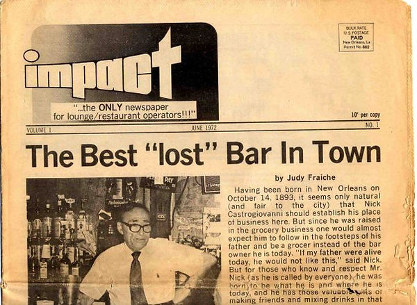 Best Lost Bar in Town