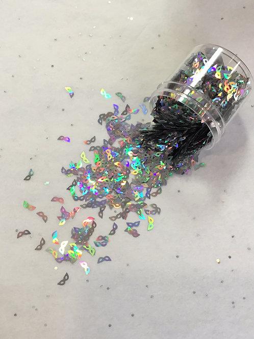 0.5 oz Masquerade, Silver Confetti