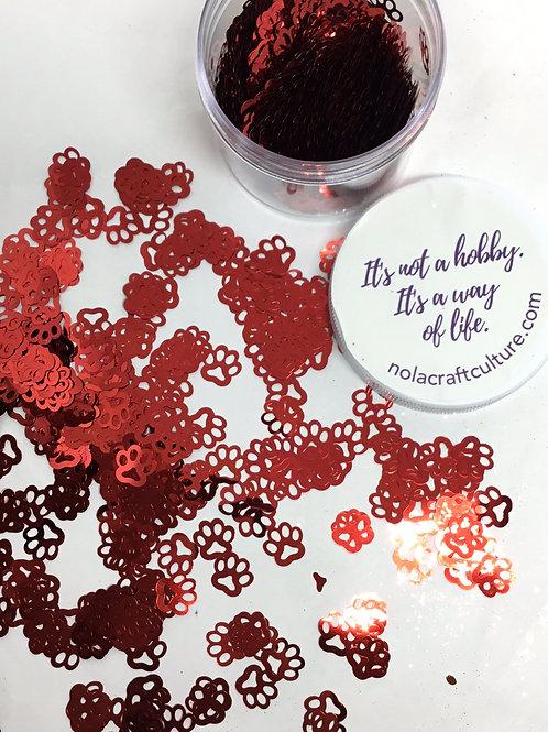 0.5 oz Red Paws Confetti