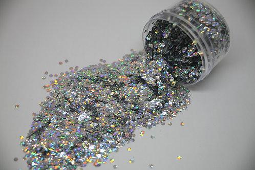 .5 oz Jar, Friendly Foil Confetti, Biodegradable