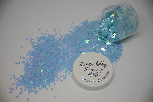 Blue Butterfly Confetti, 0.5oz