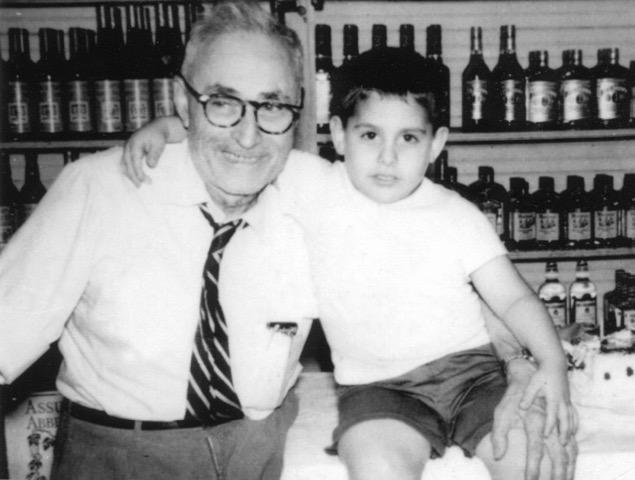 Mr. Nick & grandson Albert