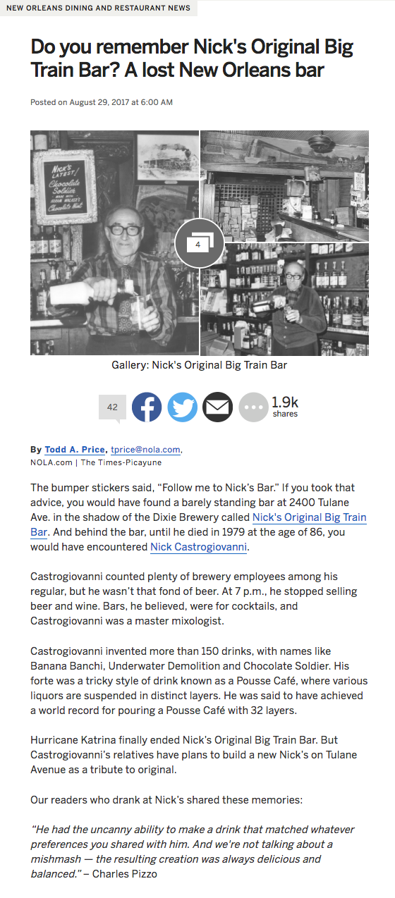 NOLA.COM article