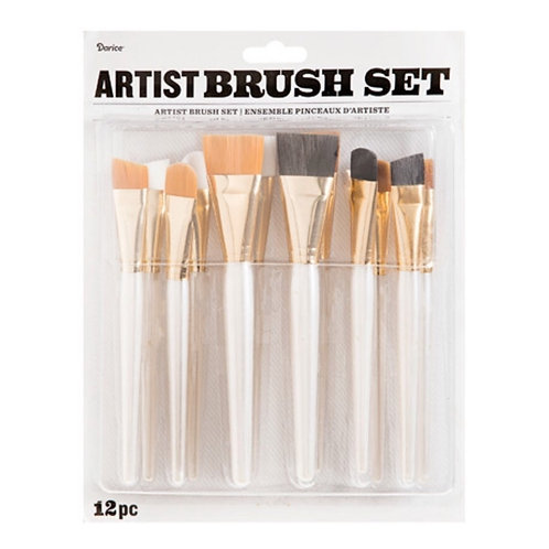 Artist Brush Set of 12