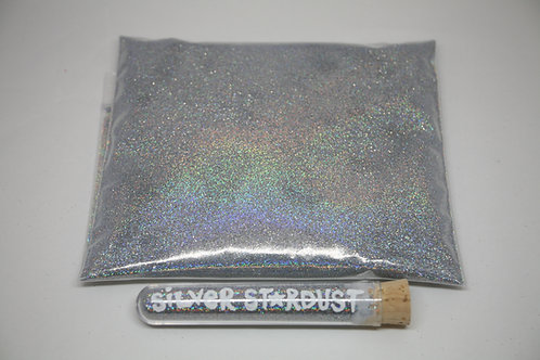8 oz Bag, Silver Stardust