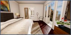 1220 Dauphine C Master bedroom