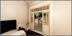 822 barracks first floor bedroom