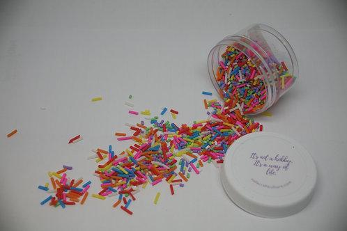 Fake Sprinkles, Rainbow (0.5oz)