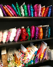 Sequins by the yard