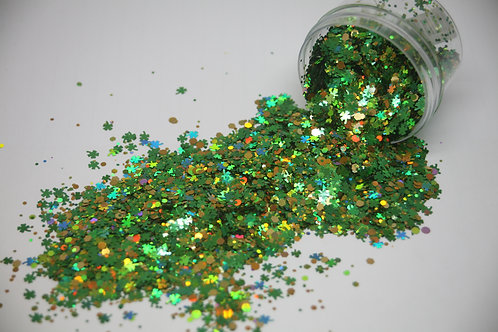 Luck of the Irish Confetti, 0.5 oz Jar