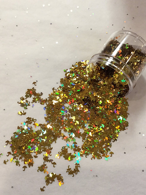Gold Umbrella Confetti, 0.5 oz