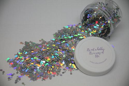 .5 oz Jar, Silver Goblets